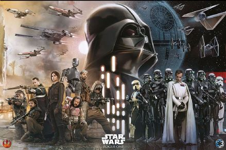 Star Wars Rogue One Rebels vs Empire 61x91,5cm Movie Posters